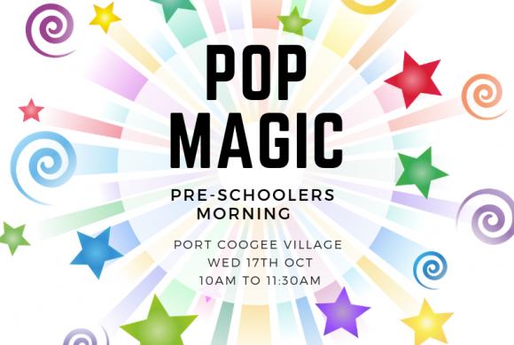 October Pre-Schoolers Mornings